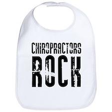 Chiropractors Rock Bib
