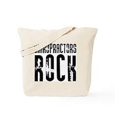 Chiropractors Rock Tote Bag