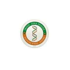 Irish DNA Mini Button (10 pack)