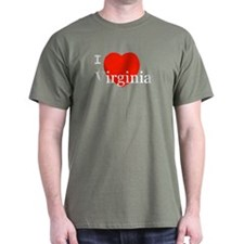I Love Virginia T-Shirt