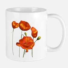 Poppies Mugs