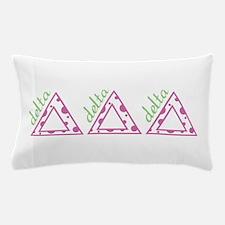 Delta Delta Delta Pillow Case