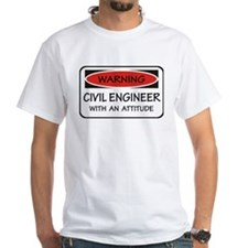 Attitude Civil Engineer Shirt