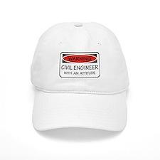 Attitude Civil Engineer Baseball Cap