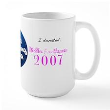 """The 2007 """"PodTea For Cancer"""" Jumbo Mug"""