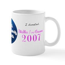 """The 2007 """"PodTea For Cancer"""" Mug"""