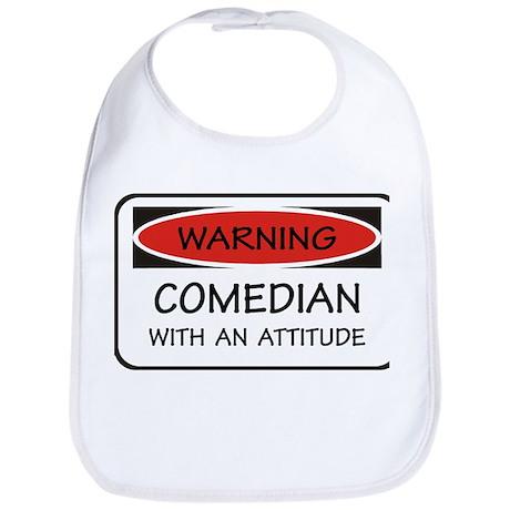 Attitude Comedian Bib