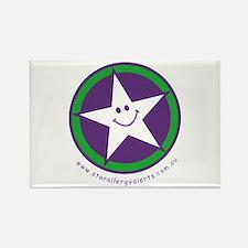 Star Allergy Alerts - logo Rectangle Magnet