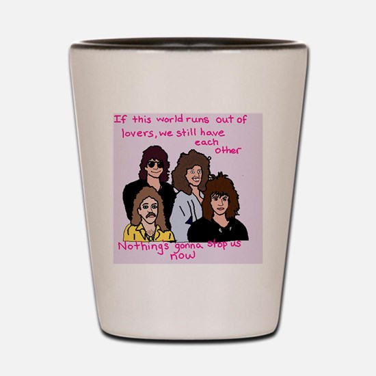 Funny Now Shot Glass