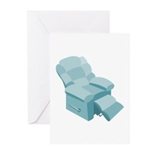 Recliner Greeting Cards