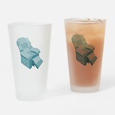 Recliner Drinking Glass