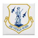 US Air National Guard Seal Tile Coaster