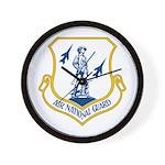 US Air National Guard Seal Wall Clock