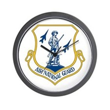 US Air National Guard Seal Wall Clock