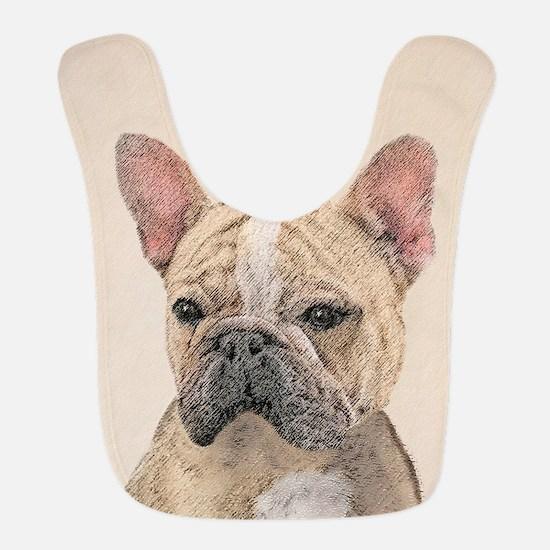 French Bulldog (Sable) Polyester Baby Bib