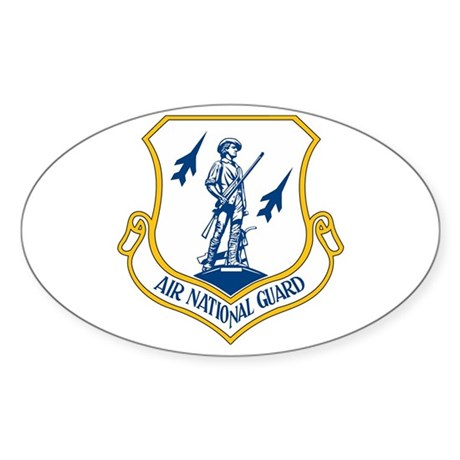 US Air National Guard Seal Oval Sticker