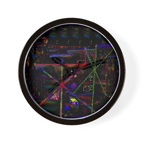 LSD Psychotherapy VI by Brett Wall Clock