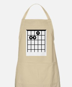 Cute Guitar chords Apron
