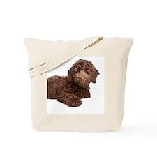 Labradoodle Puppy Tote Bag