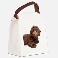 Labradoodle Puppy Canvas Lunch Bag