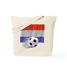 Soccer Flag Nederlands Tote Bag