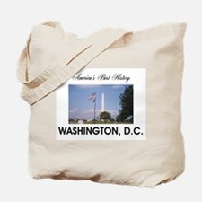 Washington Americasbesthistory.com Tote Bag