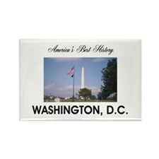 Washington Americasbesthistory.co Rectangle Magnet