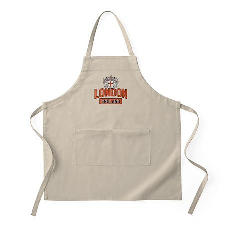London England BBQ Apron