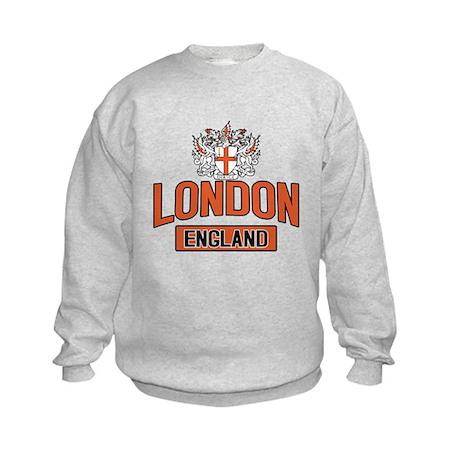 London England Kids Sweatshirt
