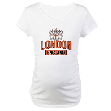 London England Maternity T-Shirt