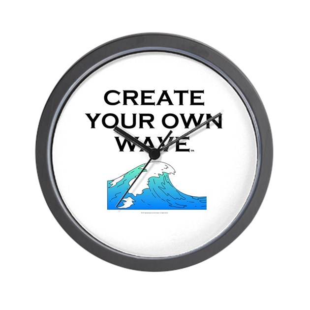 Make Your Own Clock: Create Your Own Wave Wall Clock By Limitlesspos