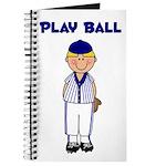 Baseball Players Journal