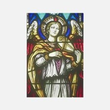 Angel with violin Rectangle Magnet