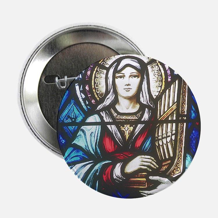 St Cecilia Button
