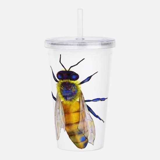 Bee Acrylic Double-wall Tumbler
