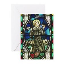 St Francis  Greeting Cards (Pk of 10)