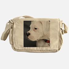 Boxer Puppy Messenger Bag