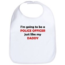 Police Officer Like My Daddy Bib