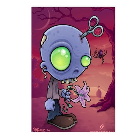 ZOMBIE JR Postcards (Package of 8)