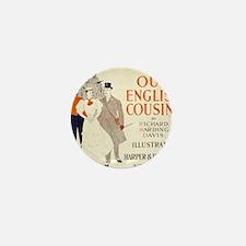 Our English Cousins By Richard Harding Mini Button