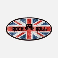 ROCK ROLL-BRITISH FLAG Patches