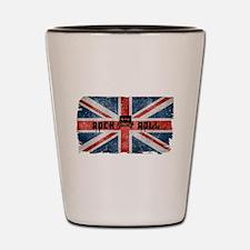 ROCK ROLL-BRITISH FLAG Shot Glass