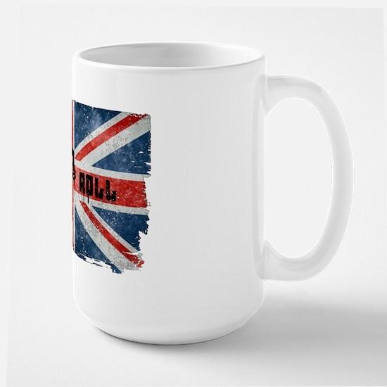 Rock Roll-British Flag Mugs