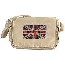 ROCK ROLL-BRITISH FLAG Messenger Bag