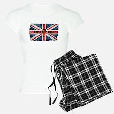 ROCK ROLL-BRITISH FLAG Pajamas