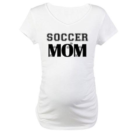 Soccer Mom Maternity T-Shirt