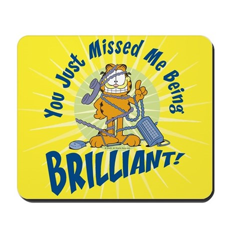 Brilliant Garfield Mousepad