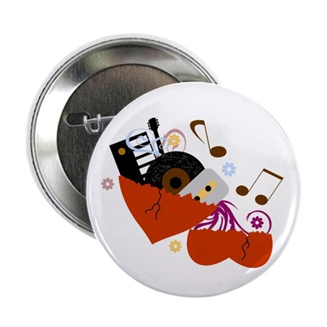 """Music Heals The Soul 2.25"""" Button (10 pack)"""