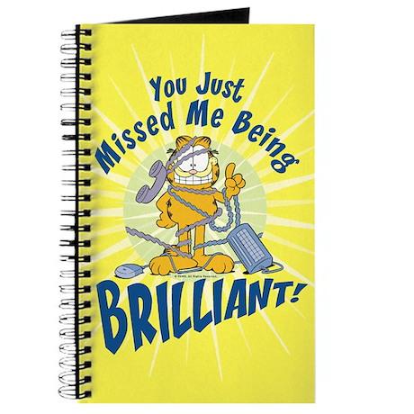 Brilliant Garfield Journal