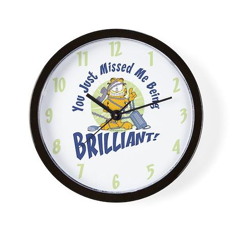 Brilliant Garfield Wall Clock